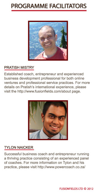 Pratish Mistry and Tylon Naicker